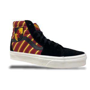 Vans Sk8-Hi Harry Potter 'Gryffindor' Size 7.5 NEW